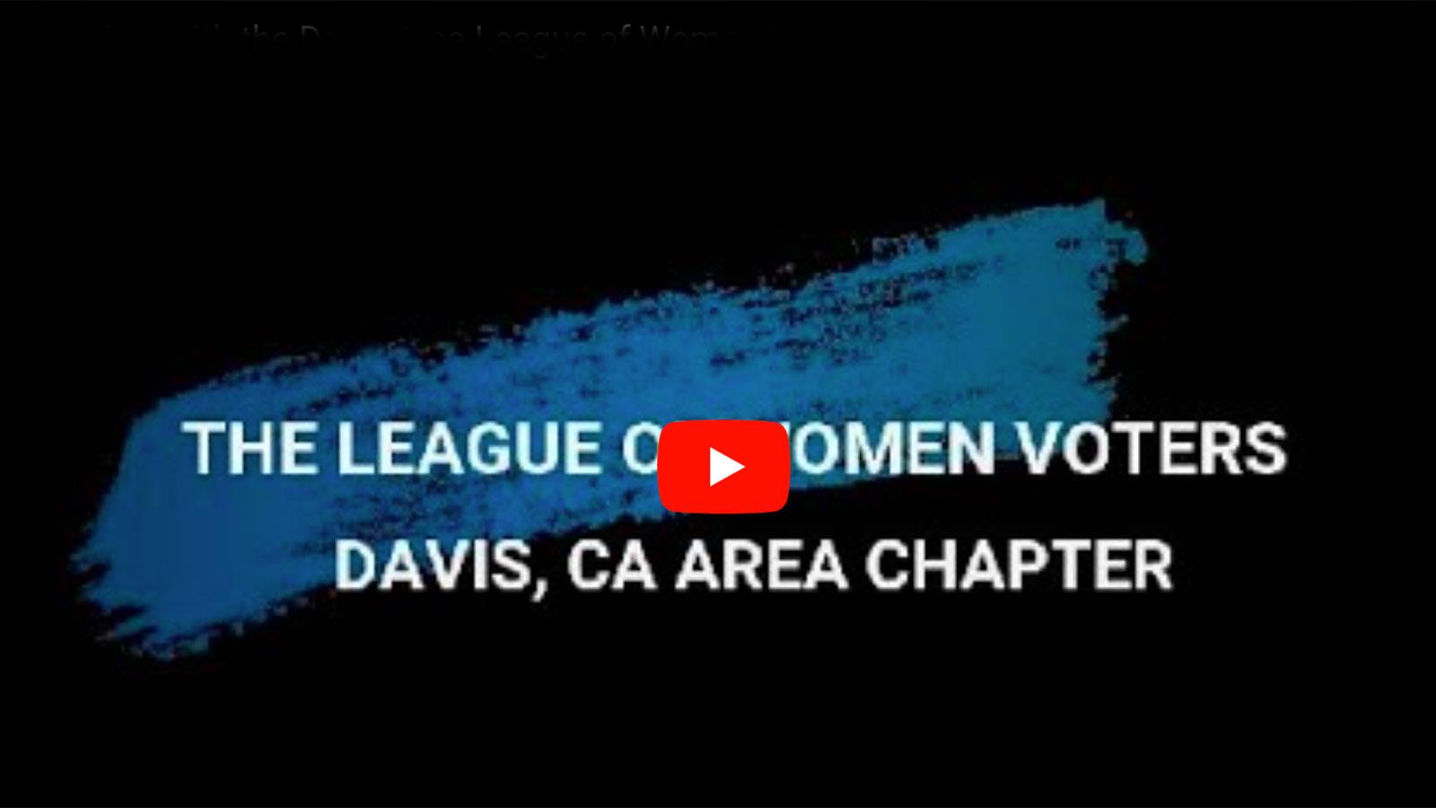 Davis Area League of Women Voters