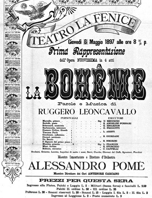 Voiceover: La Boheme